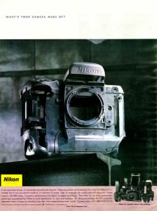 Nikon F5 Body Advert