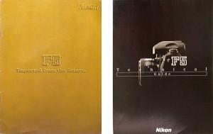 Nikon F5 Brochures