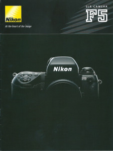Nikon F5 Catalogue